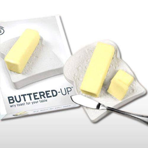 BUTTERED UP BUTTER DISH