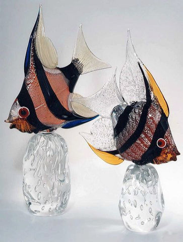 Murano glass moonfish