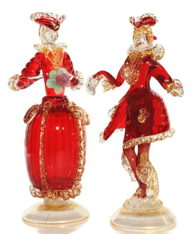 Traditional 19th century Goldoni couple