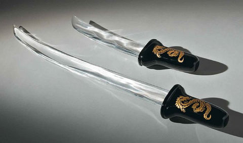 Chinese dragon swords