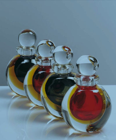'Sbruffi' bottle in four colours