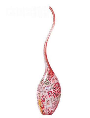 Murrine single-flower vase
