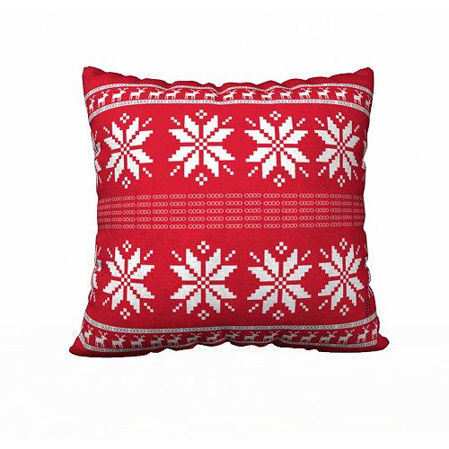 Christmas Red Pillow