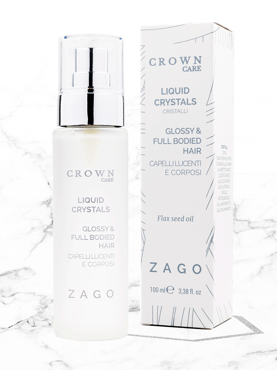 CRISTALLI LIQUIDI CAPELLI | GLOSSY AND FULL BODIED HAIR - ZagoCosmetics