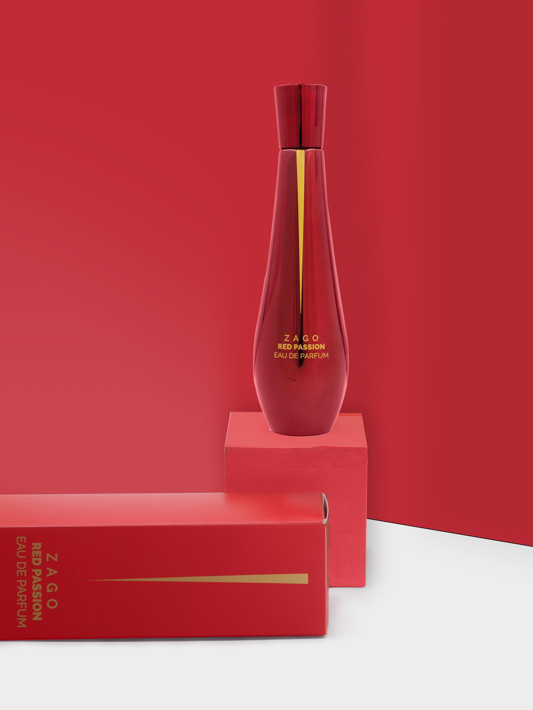 RED PASSION | EAU DE PARFUM - ZagoCosmetics