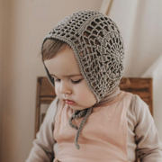The Bella Bonnet in Grey Teal