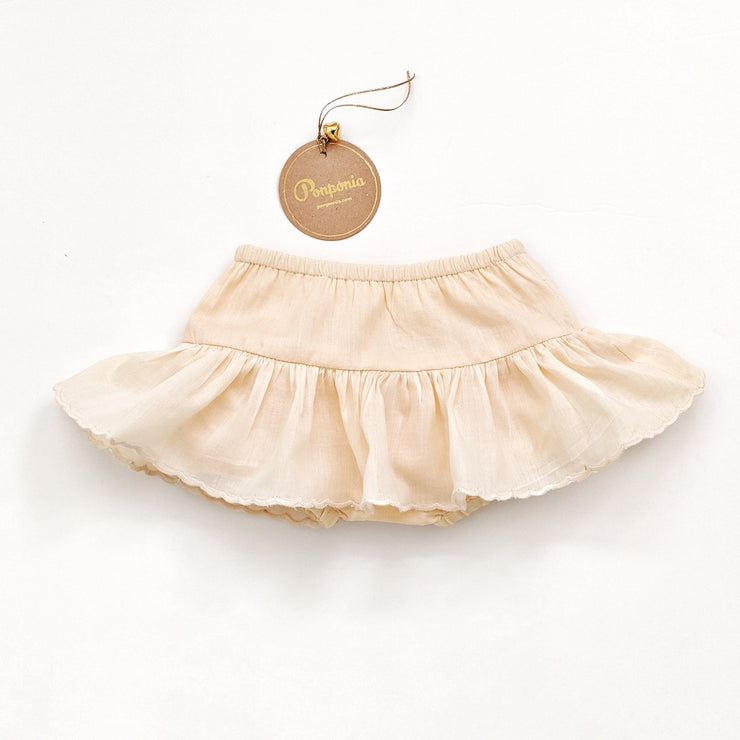 The Monali Skirted Bloomers in Bare Pink