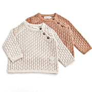 Nella Sweater in Faded Coral