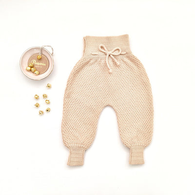 Emma Knitted Pants in Buttermilk