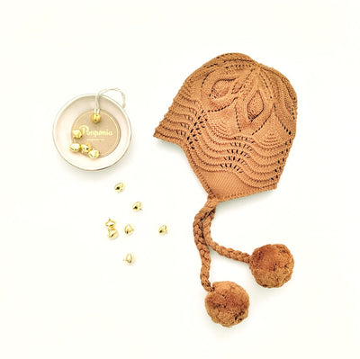 The Libby Braided Bonnet in Ginger