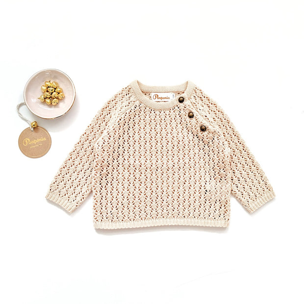 Nella Sweater in Buttermilk