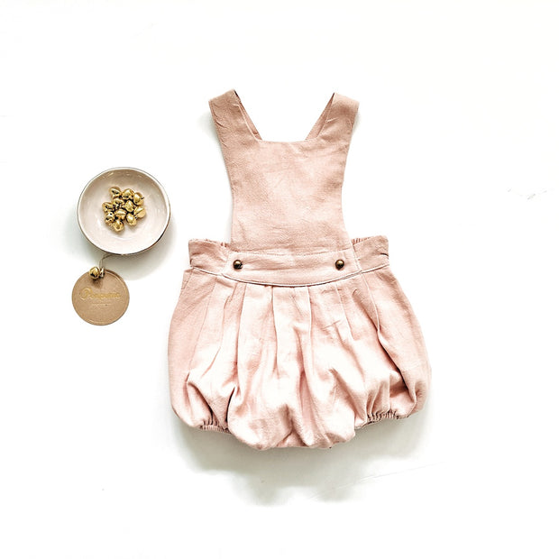 The Ari Romper in Faded Blush