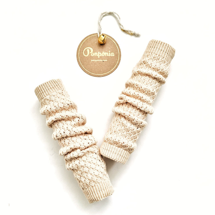 Lulu Leg Warmers in Buttermilk