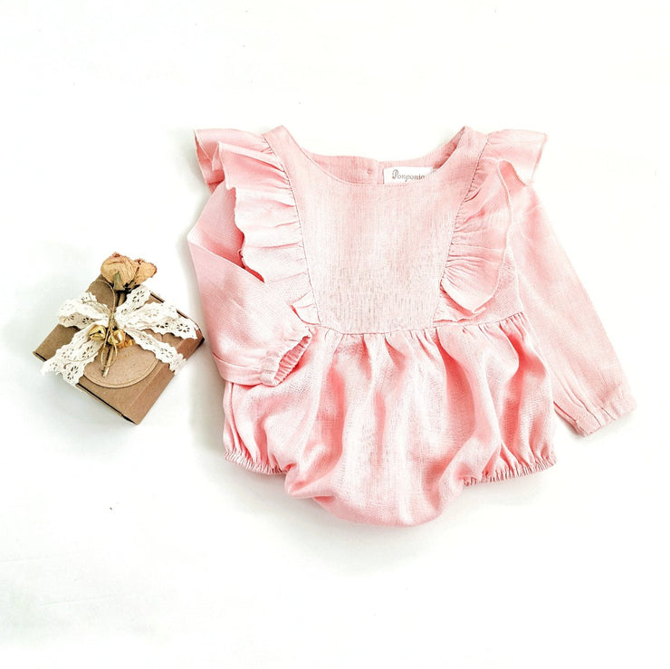 Cotton Candy Romper