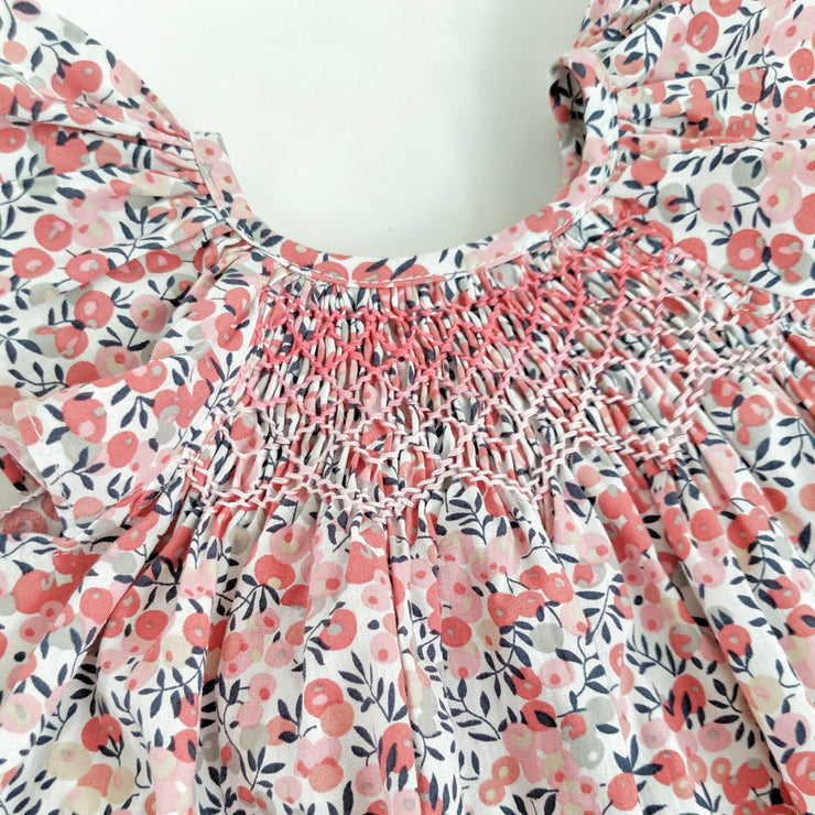 Charlie Dress Dress - Pink lady print
