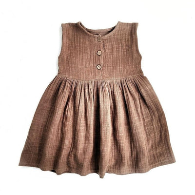 Mia Dress - Chocolate