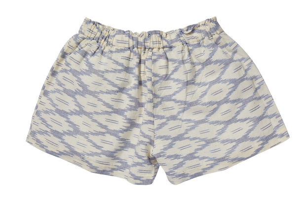 Cotton shorts with ikat pattern, pants - Ponponia