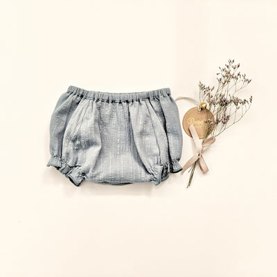 Roni Muslin Bloomers - Misty Blue