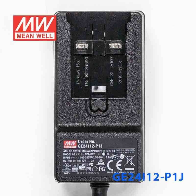 Mean Well GE12I12-P1J AC-DC Wall Mount Adaptor