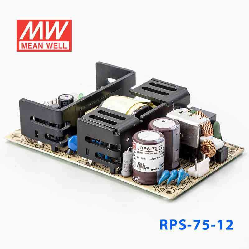 Buy Mean Well RPS-75-12 Power Supply - 100W 12V 8 3A for
