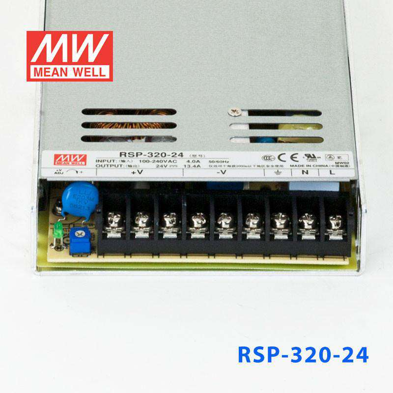 320W 24V 13.4A Low Profile Meanwell RSP-320-24 Power Supply