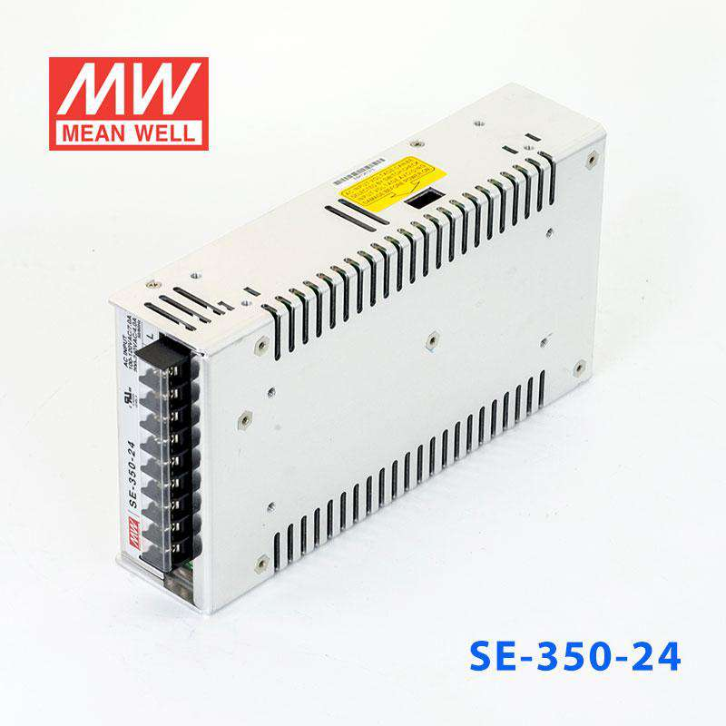 350 Watt Enclosed Switching Mean Well SE-350-27 Power Supply 8.5 L x 4.5 W x 2.0 H