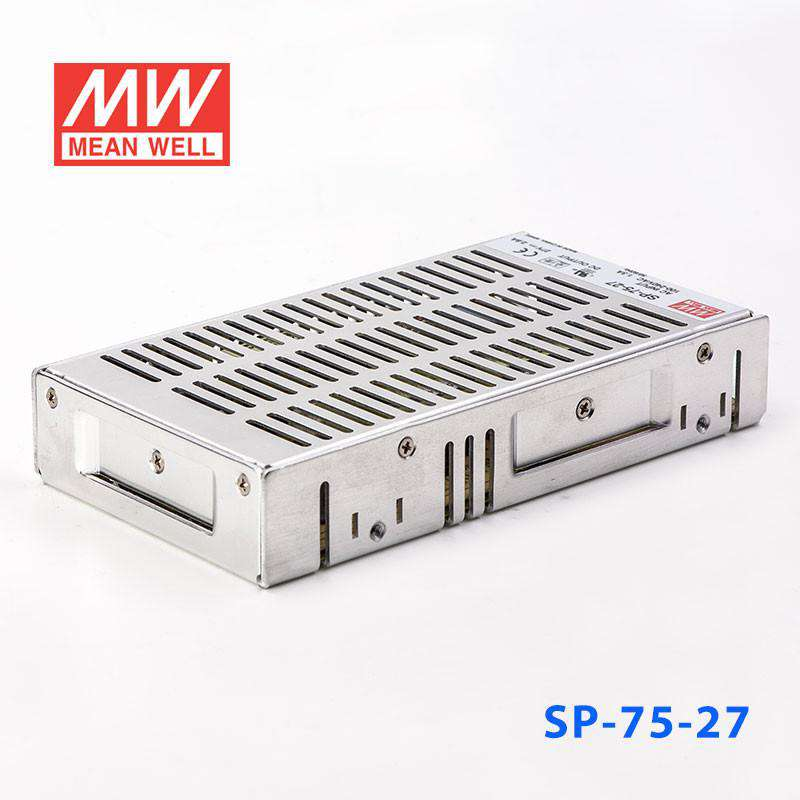 75W 27V 2.8A PFC Meanwell SP-75-27 Power Supply