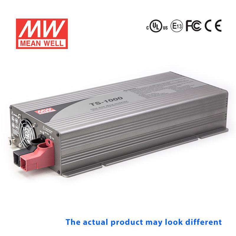 Buy Mean Well TS-1000-248C DC-AC Inverter - 1000W 48VDC-230VAC -True Sine  Wave for - $ 277 71 USD