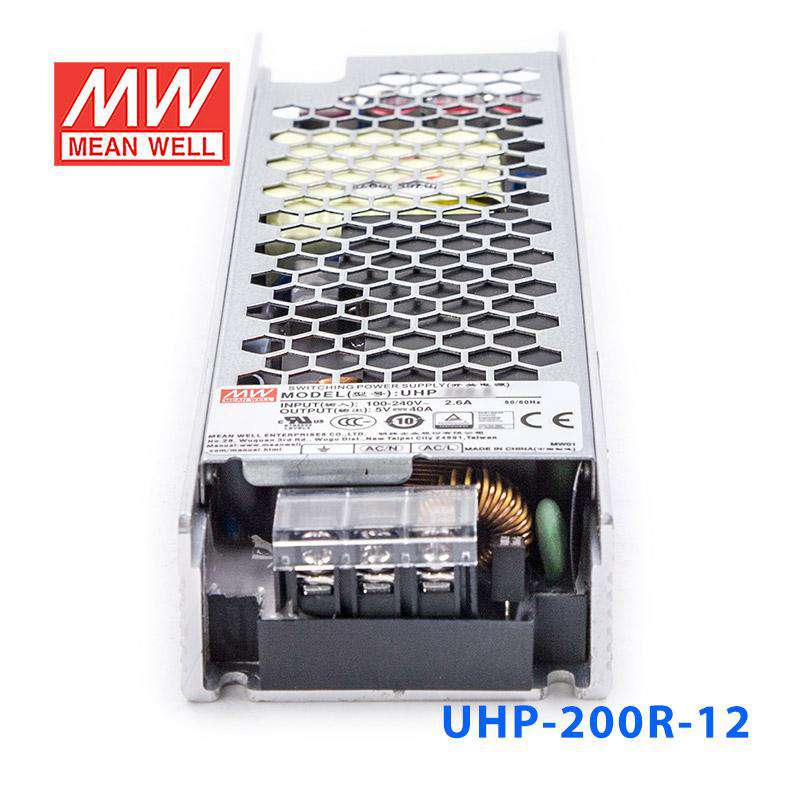 MEAN WELL Power Supply 12v 200W 16.7A