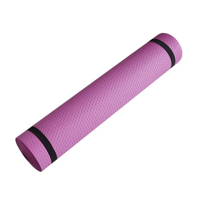 Yoga Mat Anti-skid Sports Fitness Mat 3MM-6MM Thick  EVA Comfort Foam Yoga Mat for Exercise, Yoga, and Pilates