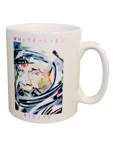 'Big TV' White Mug