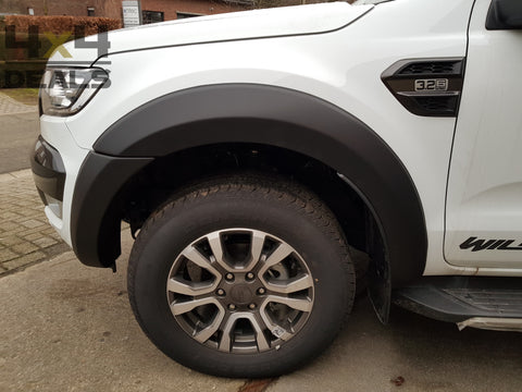 Wielkastverbreders 35mm voor Ford Ranger Double Cab (2019+) | Elargisseurs d'aile 35mm pour Ford Ranger Double Cab (2019+)