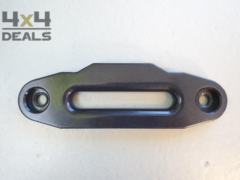 Aluminium fairlead zwart (small) | Guide câble aluminium noir (small)