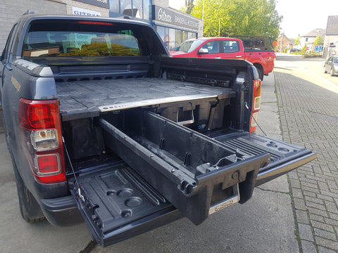 DECKED ladesysteem voor Ford Ranger Double Cab (2012+) | DECKED coffre à tiroir pour Ford Ranger Double Cab (2012+)