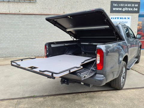 Antec Sliding Tray voor Mercedes X-Class Double Cab | Antec Sliding Tray pour Mercedes X-Class Double Cab