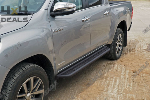 Side Steps Toyota Hilux Double Cab (2016+)