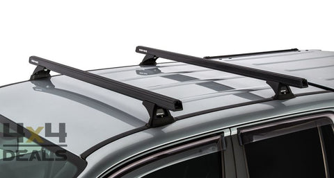 Rhino-Rack Heavy Duty Bars 1375mm voor Volkswagen Amarok (2010+) | Rhino-Rack Heavy Duty Bars 1375mm pour Volkswagen Amarok (2010+)