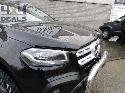 Bonnet Guard dark smoke voor Mercedes X-Class (2018+) | Bonnet Guard dark smoke pour Mercedes X-Class (2018+)