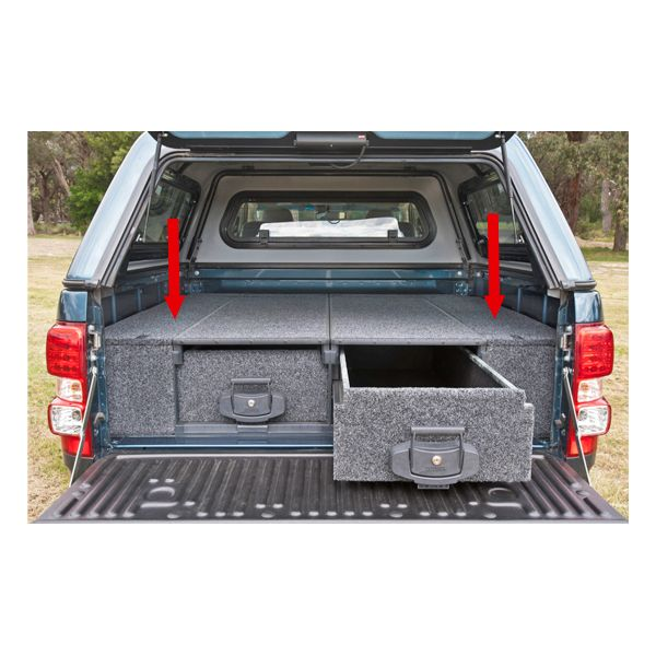 ARB Outback Side Floor voor Ford Ranger DC (2012+) | ARB Outback Side Floor pour Ford Ranger DC (2012+)