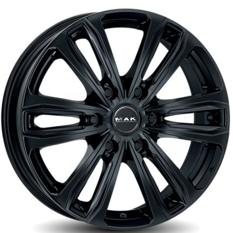 MAK Safari 6 Gloss Black 7.5x17