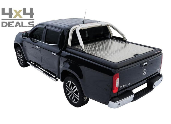 Upstone Inox roll bar 76mm voor Mercedes X-class Double Cab | Upstone Inox roll bar 76mm pour Mercedes X-class Double Cab