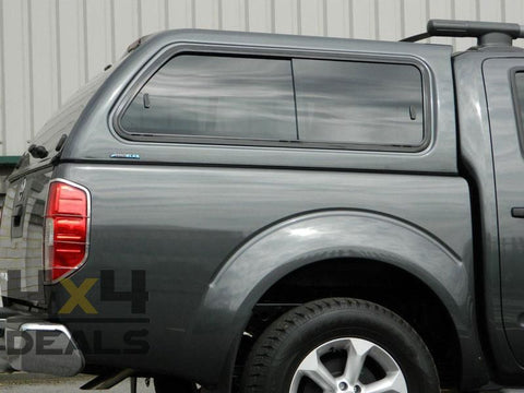 Aeroklas hardtop sliding windows voor Fiat Fullback Double Cab (2016+) | Aeroklas hardtop sliding windows pour Fiat Fullback Double Cab (2016+)