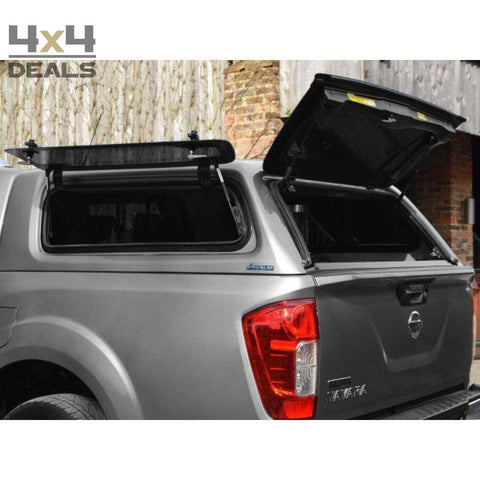 Aeroklas Hardtop Lift-Up Windows Voor Nissan Navara Np300 Double Cab (2016+) | Aeroklas Hardtop Lift-Up Windows Pour Nissan Navara Np300