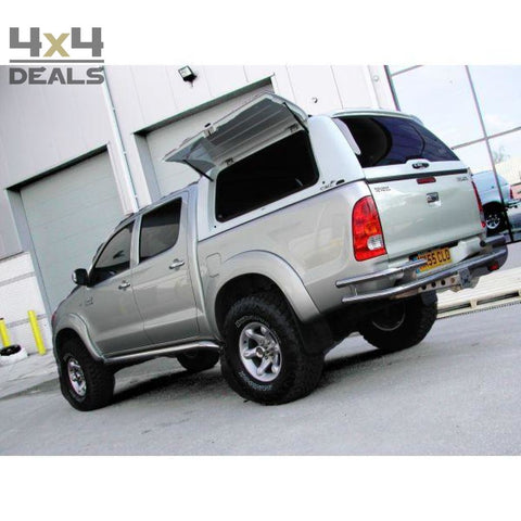 Alpha Hardtop Gullwing Voor Toyota Hilux Double Cab (05-16) | Alpha Hardtop Gullwing Pour Toyota Hilux Double Cab (05-16)