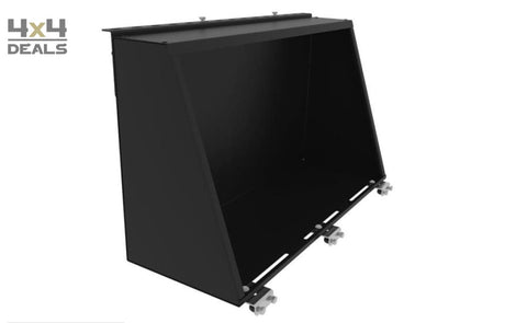 Alu-Cab Gullwing Box 1250mm (black)
