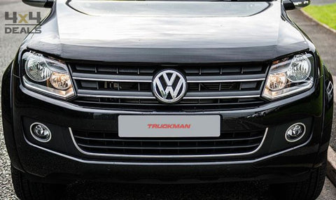Bonnet Guard Dark Smoke Voor Volkswagen Amarok (10-17) | Bonnet Guard Dark Smoke Pour Volkswagen Amarok (10-17)