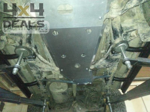 F4X4 Skidplate Aluminium Voor Toyota Land Cruiser 120 (02-09) | F4X4 Ski De Protection Pour > 2