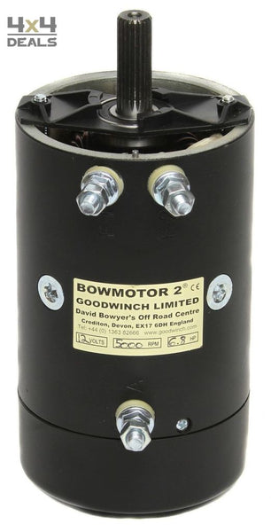 Goodwinch Bow 2 Competitiemotor 6.8Pk 24V | Goodwinch Bow 2 Moteur 6.8Cv 24V
