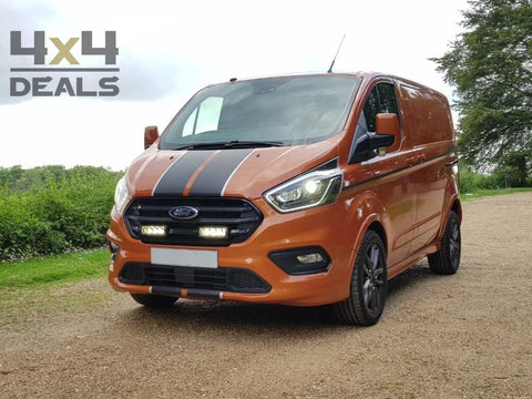 Lazer Grille Kit Triple-R 750 voor Ford Transit Custom (2018+) | Lazer Grille Kit Triple-R 750 pour Ford Transit Custom (2018+)