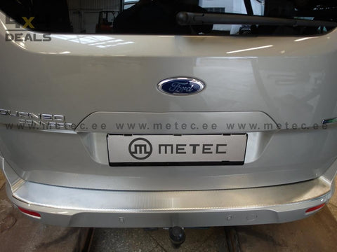 Metec Beschermplaat Achterbumper Ford Connect (2014+) | Metec Protection Seuil De Coffre Ford Connect (2014+)